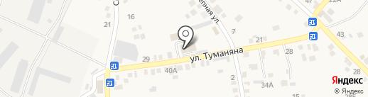 Многофункциональный центр предоставления государственных и муниципальных услуг Мясниковского района на карте Чалтыря