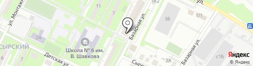 Сбербанк, ПАО на карте Липецка
