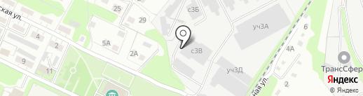 Фора на карте Липецка