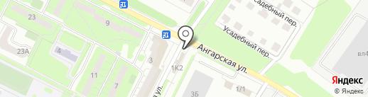 Русский аппетит на карте Липецка