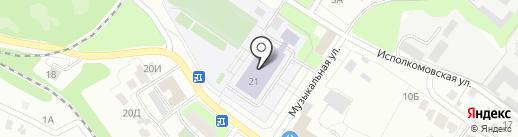 Движение на карте Липецка