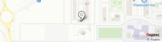 СК-Аструм на карте Липецка