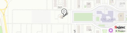 Храм Иверской иконы Божией Матери на карте Липецка