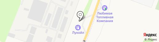 АЗС Лукойл на карте Лениного