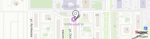 ШАТУРА на карте Липецка