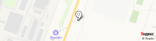 Юнэкт на карте Лениного