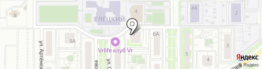 Колобок на карте Липецка