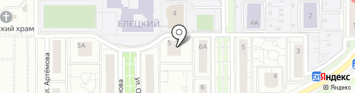 Липецкая ипотечная корпорация на карте Липецка