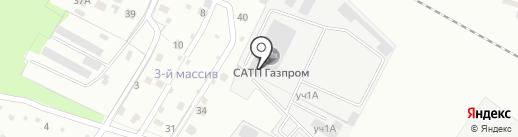 Газпром Газораспределение Липецк на карте Липецка