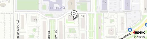 ПрофиСтрой на карте Липецка
