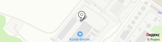 КрафтБетон на карте Липецка