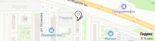 Глобус Групп на карте Липецка