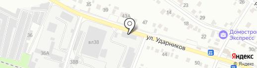 Мебельный магазин на карте Липецка