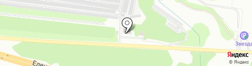 Трасса48 на карте Липецка