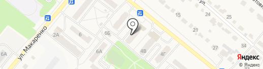 Магазин сувениров и подарков на карте Рыбного