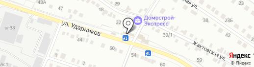 Автомастер на карте Липецка