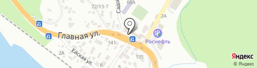 Санги Стиль на карте Сочи