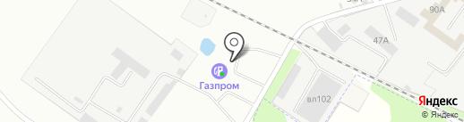 АГЗС на карте Липецка