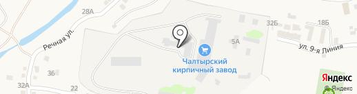 ЧПКПСМ на карте Чалтыря