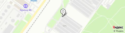 48 киловатт на карте Липецка