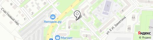 Дом-Рус на карте Липецка