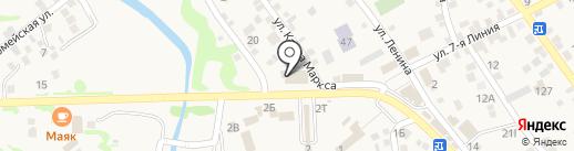 Банкомат, Почта Банк, ПАО, Ростовский филиал на карте Чалтыря