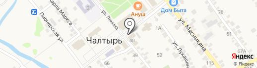 Юго-Западный банк Сбербанка России на карте Чалтыря