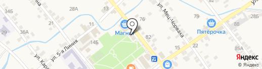 Банкомат, Россельхозбанк на карте Чалтыря