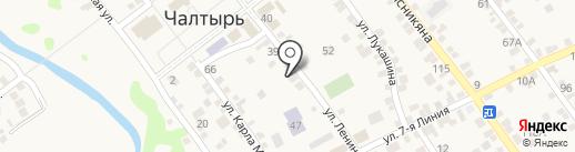 Детский сад №27 на карте Чалтыря