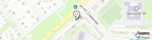 Риэлторско-юридический центр на карте Липецка