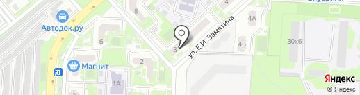 Медико-массажный кабинет на карте Липецка