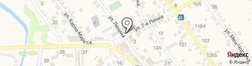 Управление Федеральной службы государственной регистрации, кадастра и картографии по Ростовской области на карте Чалтыря