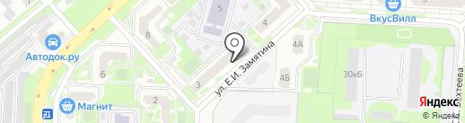Berezka на карте Липецка