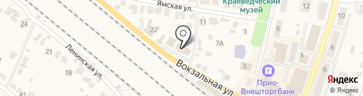 Кадастровая палата по Рыбновскому району на карте Рыбного