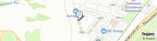 Steklo48 на карте Липецка