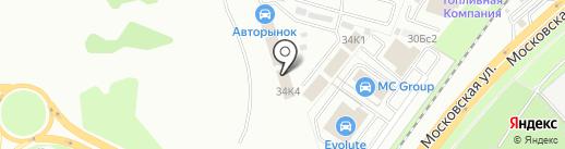 Центр автостекол на карте Липецка