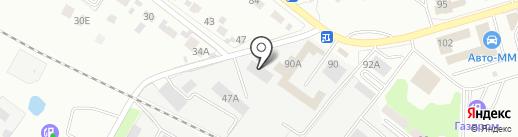 Детский двор на карте Липецка