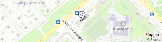 Фокс Комп Сервис на карте Липецка