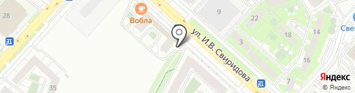 Бургер-бар на карте Липецка