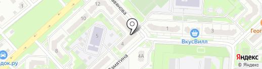 Почтовое отделение №70 на карте Липецка