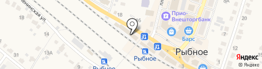 Хозяйственный магазин на карте Рыбного