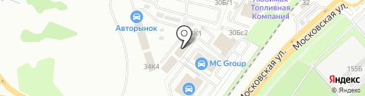 ХАДО на карте Липецка