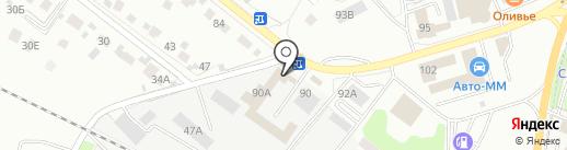 Ремзона-90 на карте Липецка