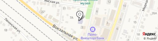 Детский сад №1 на карте Рыбного