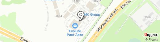 МОДУС на карте Липецка