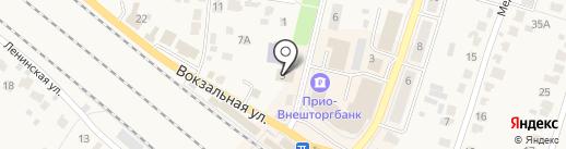 Управление пенсионного фонда РФ по Рыбновскому району на карте Рыбного