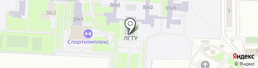 Центр профессиональной переподготовки на карте Липецка