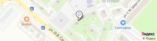 EXPERTSB на карте Липецка