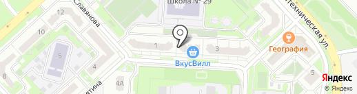 Академия информационной безопасности на карте Липецка