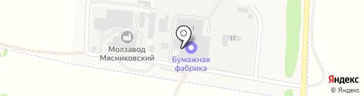 Бумажная фабрика на карте Чалтыря